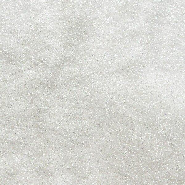 Белый, глиттер