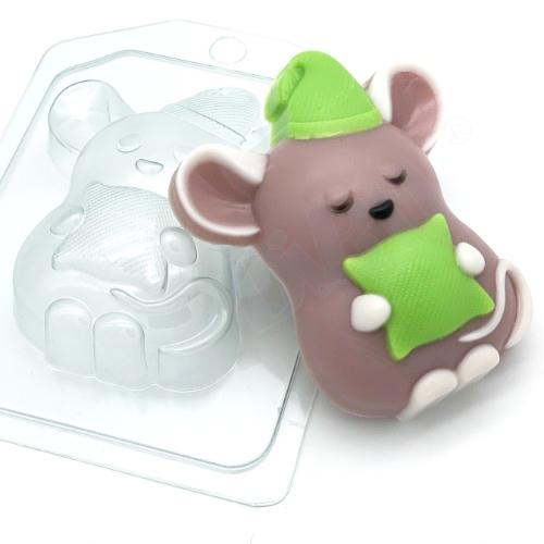 Мышь-соня, форма пластиковая