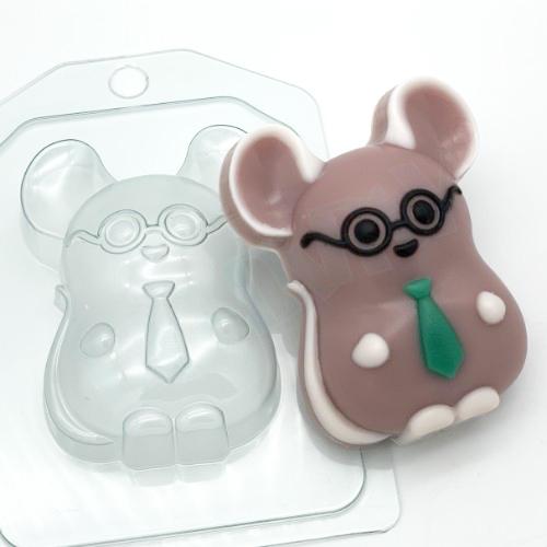 Мышь деловой, форма пластиковая