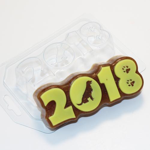 2018 - Силуэт собаки