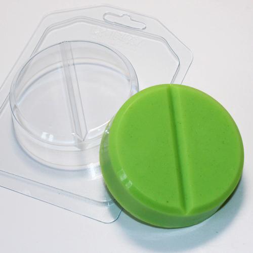 Таблетка круглая, форма пластиковая