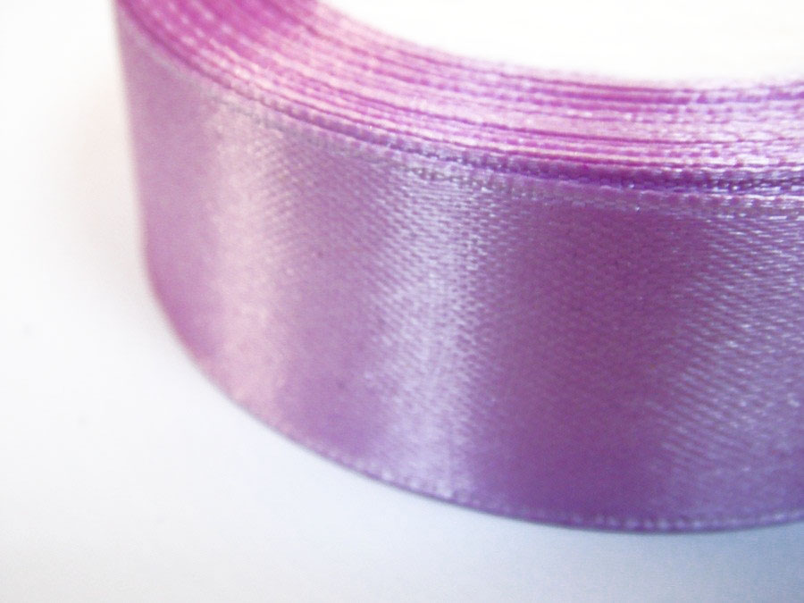 Лента атласная 2,5 см лиловая
