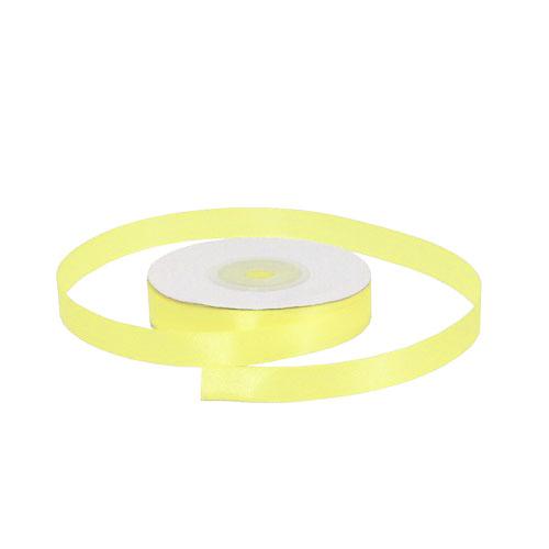 Лента атласная 1,2 см желтая