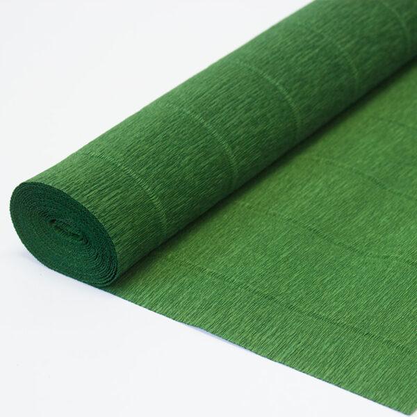 Бумага гофрированная простая травяная 591