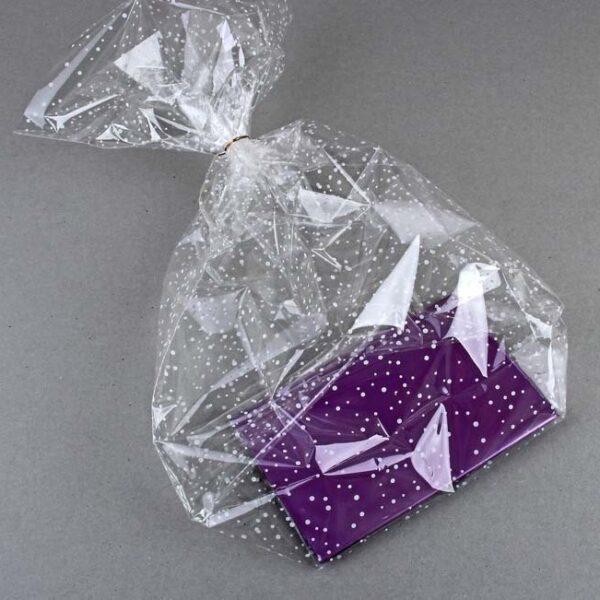 Пакет подарочный на жестком дне  11х17х60 см