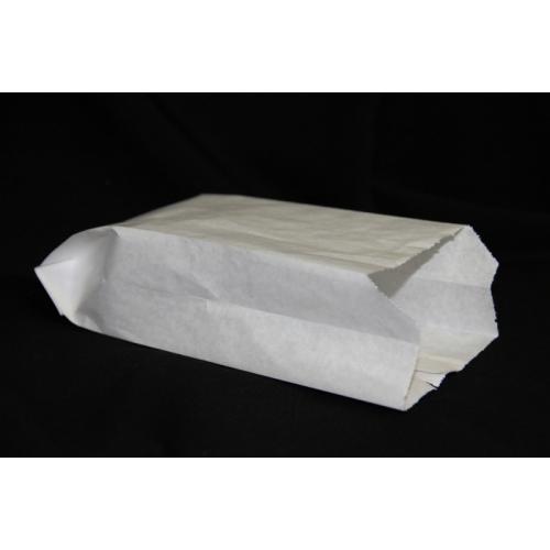 Пакет бумажный 18,5х8х4,5 см белый