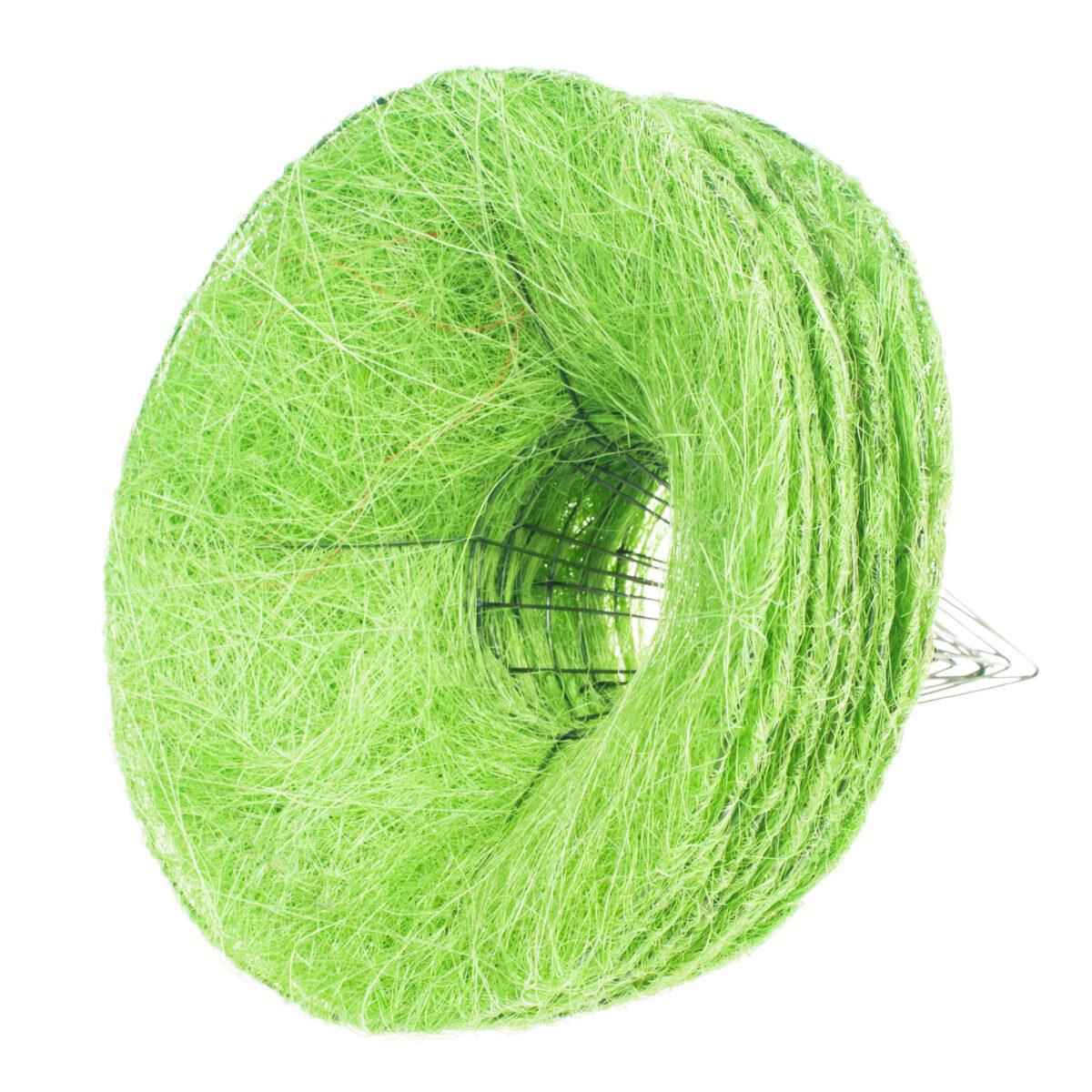 Каркас для букета гладкий 25 см, цвет зеленое яблоко
