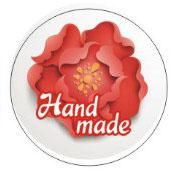 """Наклейка """"Hand made"""" 3016"""