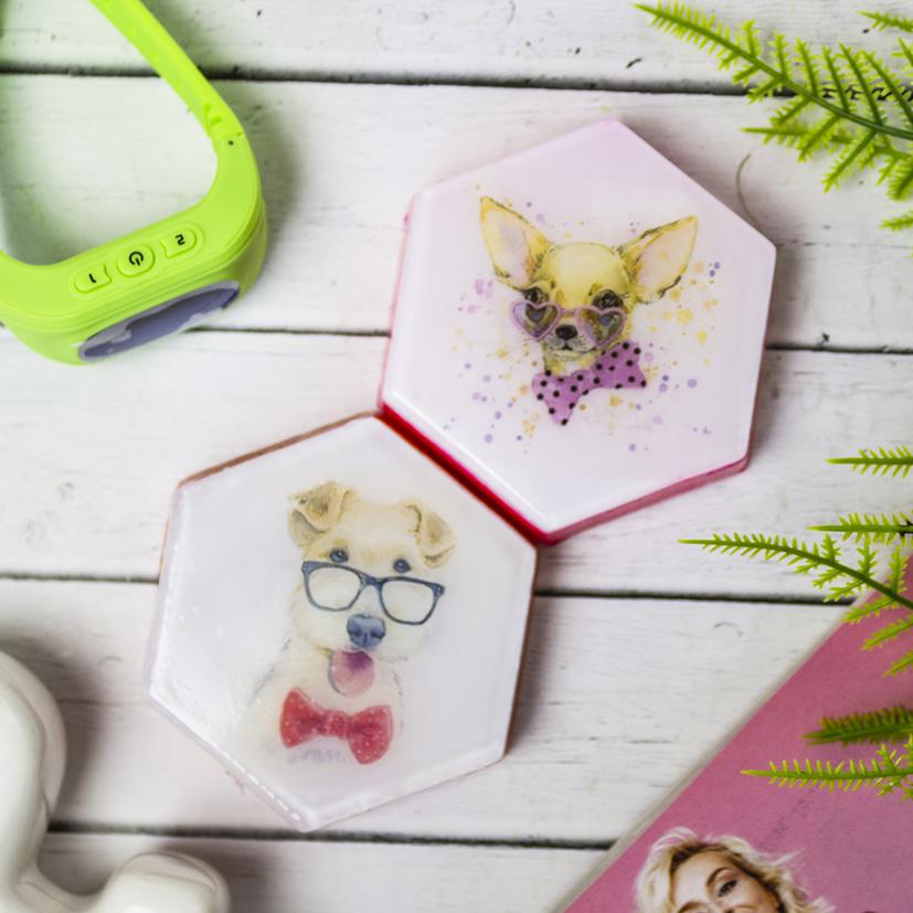 Шестиугольник, форма пластиковая
