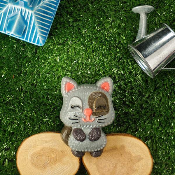 Котик, форма пластиковая