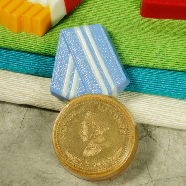 Медаль (под водорастворимую бумагу d=45 мм), форма пластиковая
