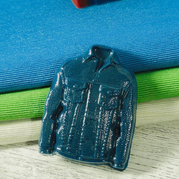 Джинсовка, форма пластиковая