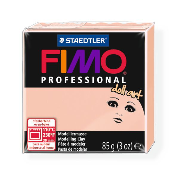 FIMO professional doll art №432, полимерная глина
