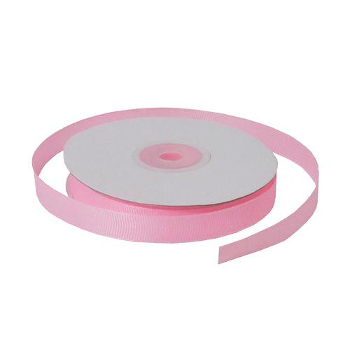 Лента репсовая 1,2 см розовая