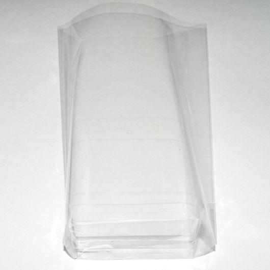 Пакетики 8х23+4 см с объемным дном