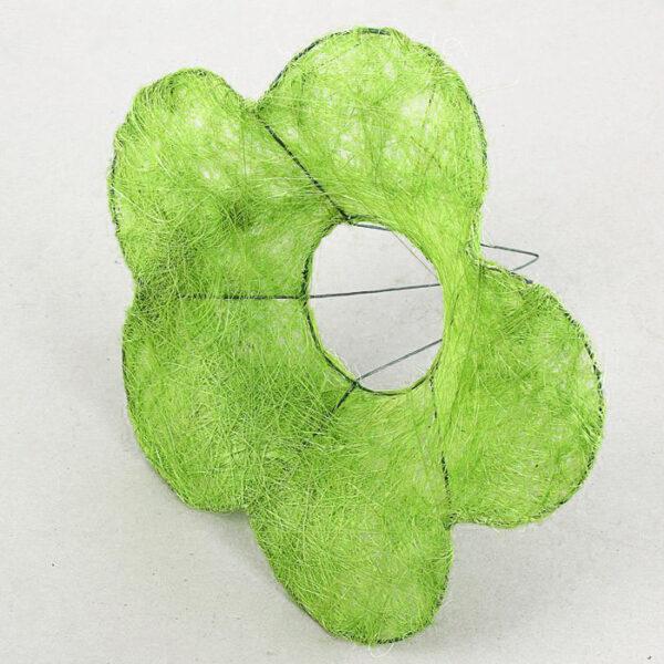 """Каркас для букета """"Ромашка"""" 25 см, цвет зеленое яблоко"""