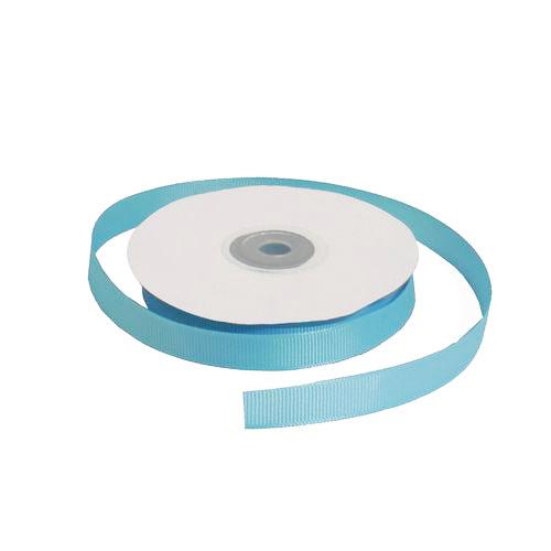 Лента репсовая 1,2 см голубая