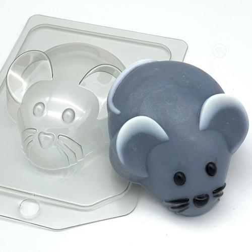 Мышь/вид сверху, форма пластиковая