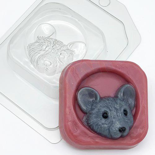 Мышь в норке, форма пластиковая