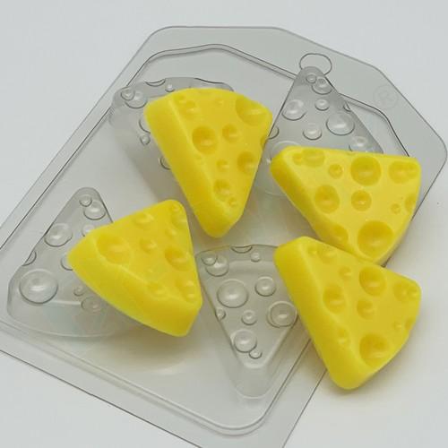 Сыр треугольный (4 мини), форма пластиковая