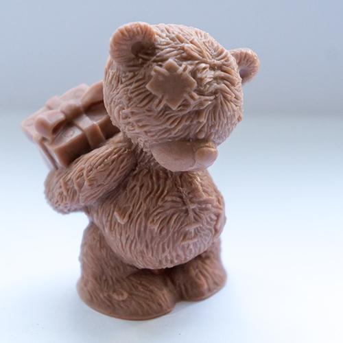 Мишка с подарком 3D