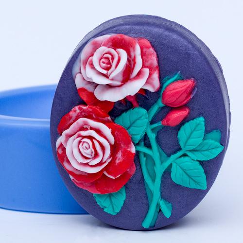 Розы, силиконовая форма в аренду
