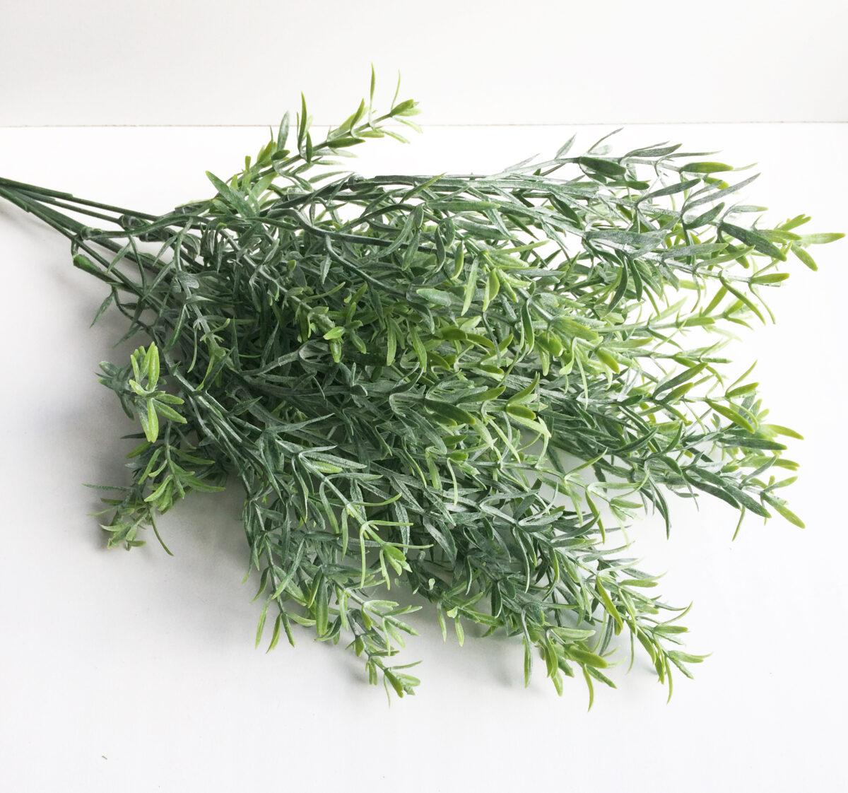"""Букет """"Аспарагус"""" зеленый с напылением"""