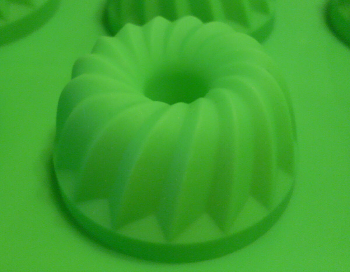 Кекс с отверстием