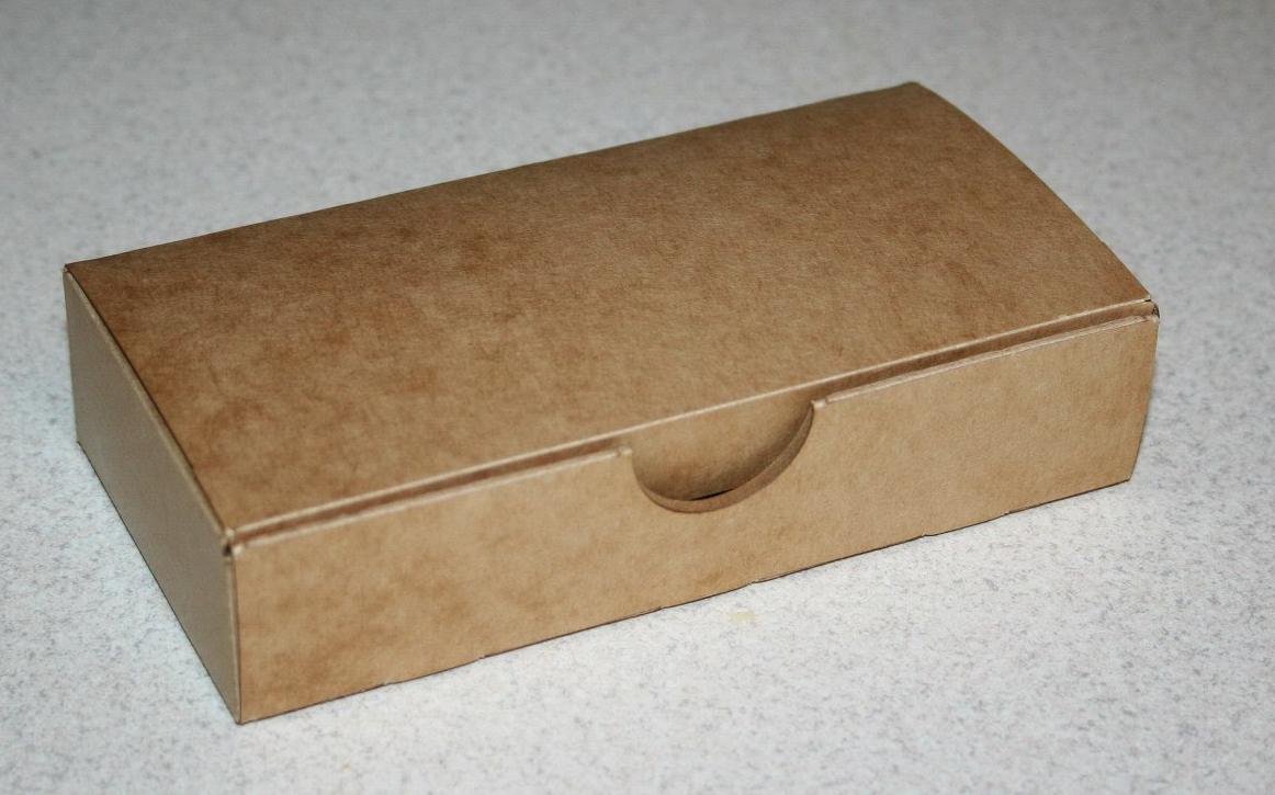 Коробочка прямоугольная Крафт 1203