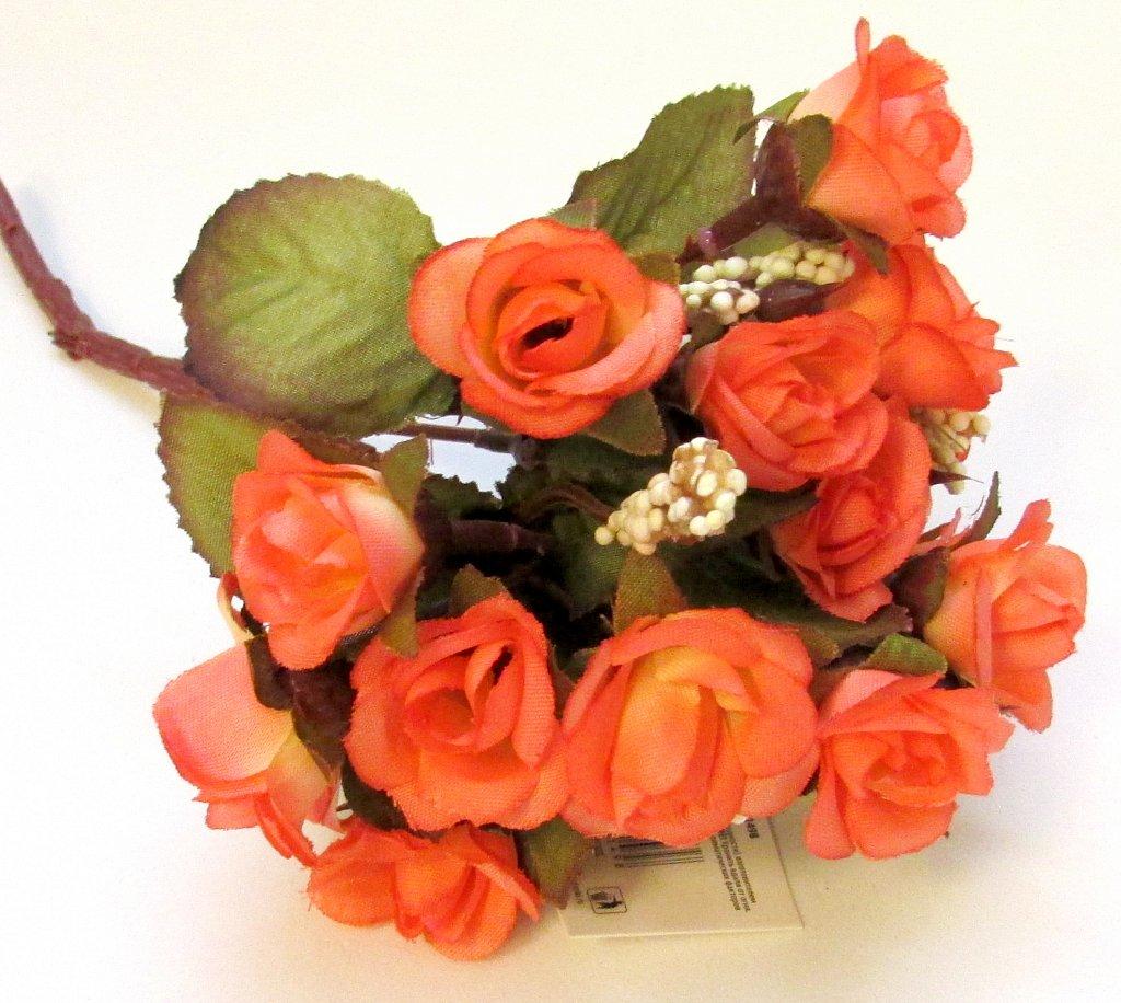 """Букет """"Розочки с тычинками"""" оранжевые"""