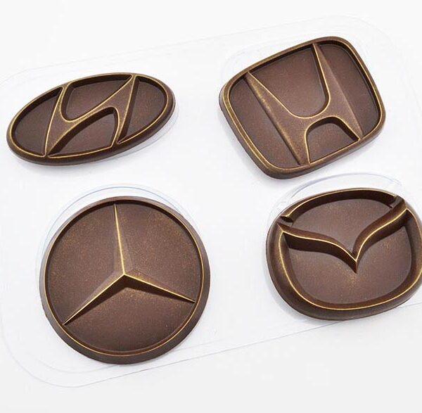 Автоэмблемы 2, пластиковая форма