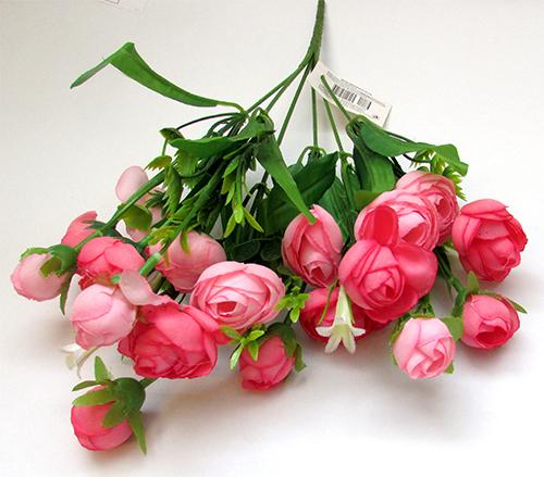"""Букет """"Розы с колокольчиками"""" розовые"""