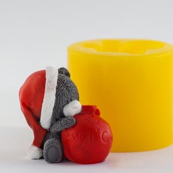 Мишка с шариком 3D