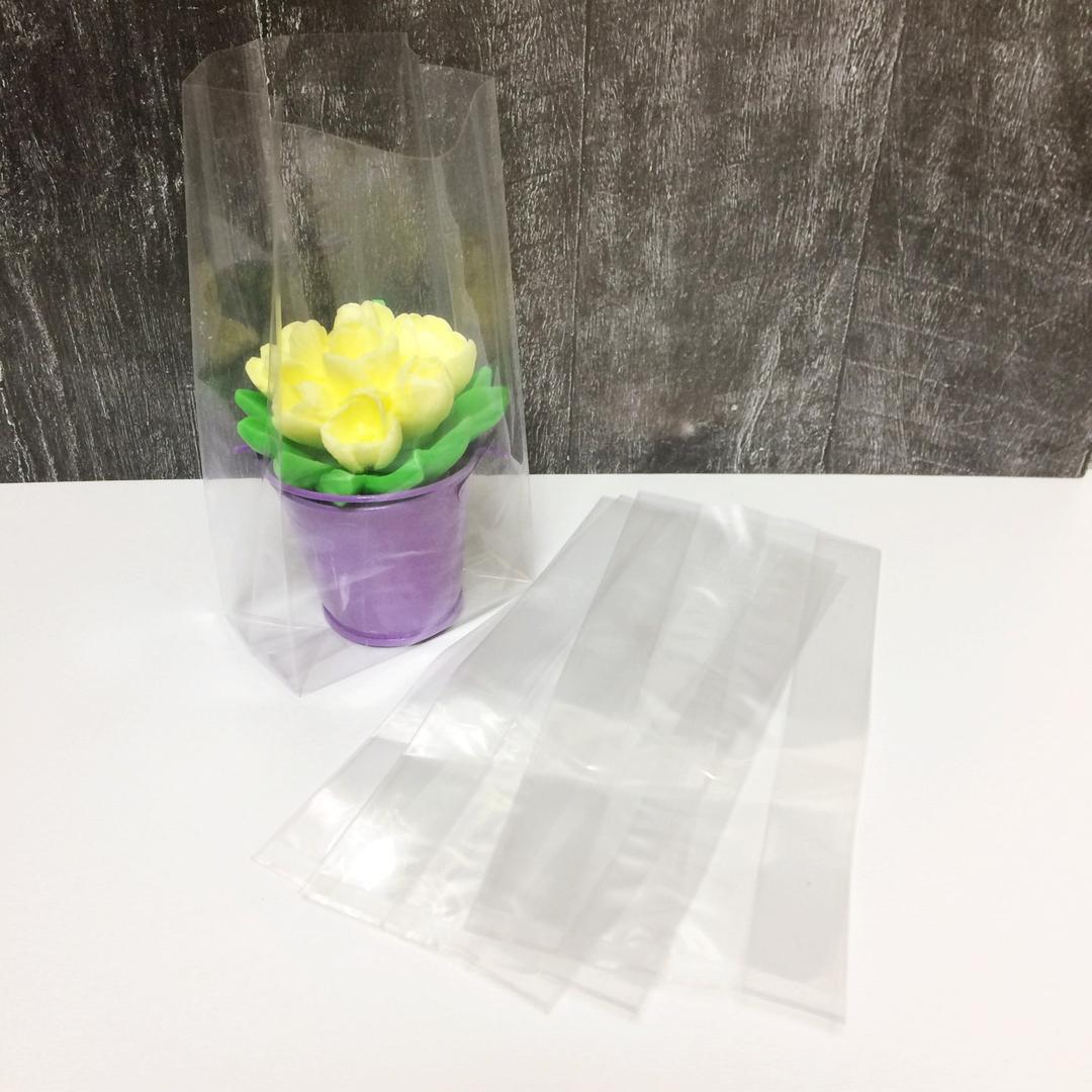 Пакетики 18х8+4 см с объемным дном