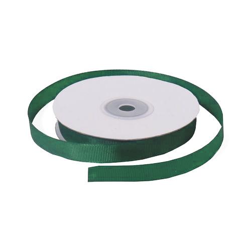 Лента репсовая 1,2 см зеленая