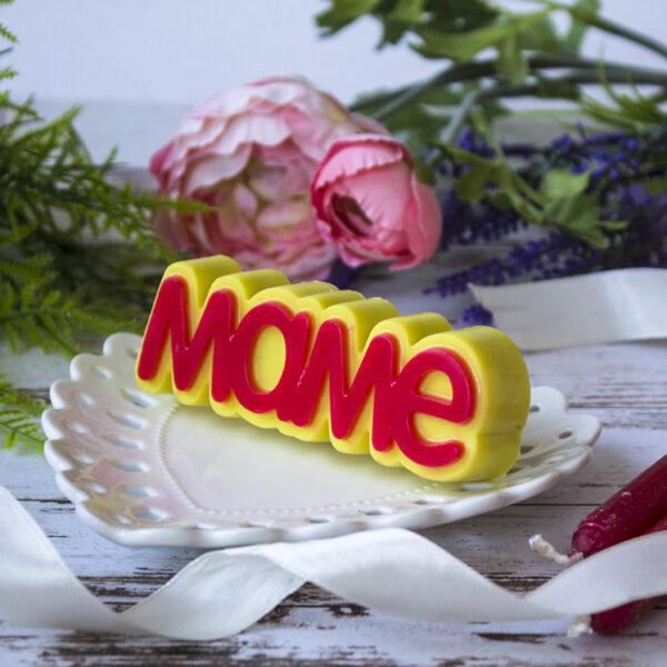 Маме, форма пластиковая