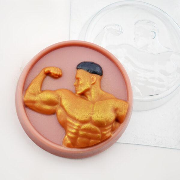 Культурист, форма пластиковая