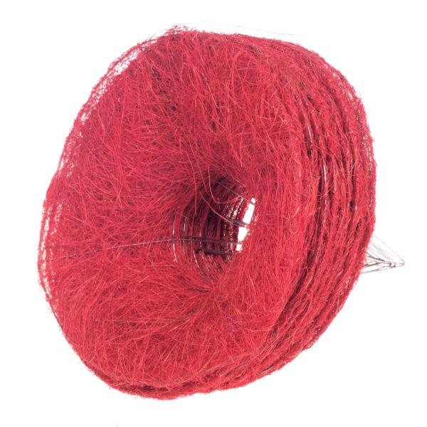 Каркас для букета гладкий 25 см, цвет красный