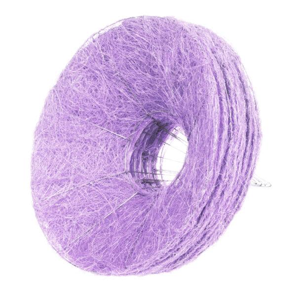 Каркас для букета гладкий 25 см, цвет светло-фиолетовый
