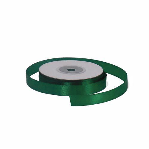 Лента атласная 1,2 см зеленая