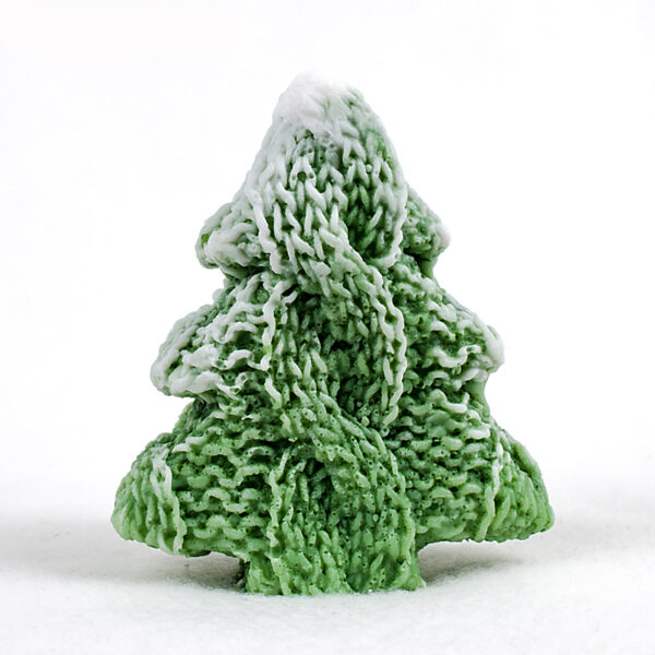 Вязаная елочка, силиконовая форма