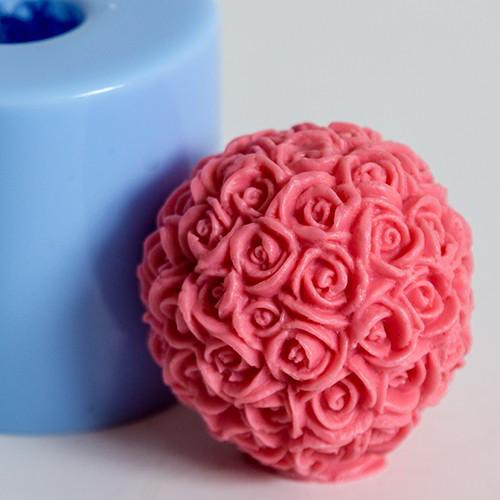 Шар из роз 3D