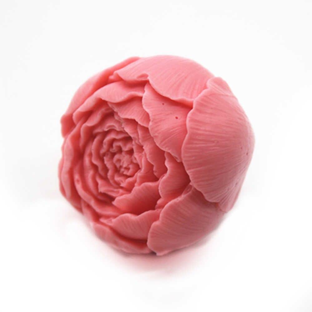 Бутон пиона 3D, силиконовая форма
