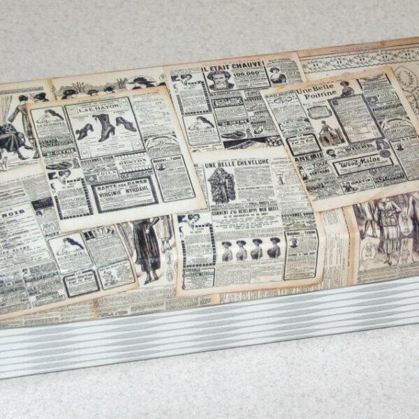 Коробочка двухкомпонентная (дно+крышка) 1420