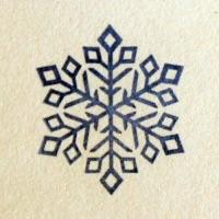Штамп Снежинка 112