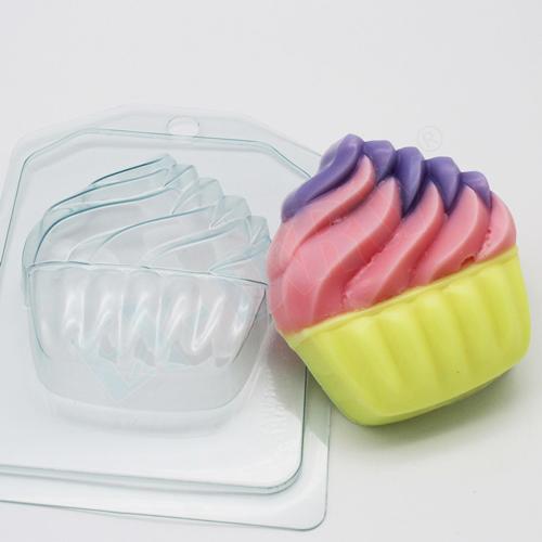 Мороженое - Мягкое в корзинке, форма пластиковая