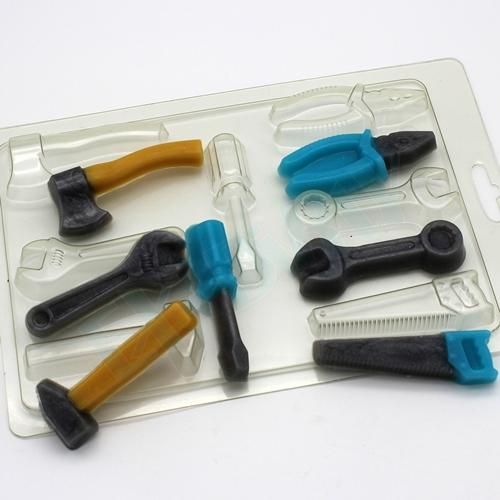 Инструменты мини, форма пластиковая