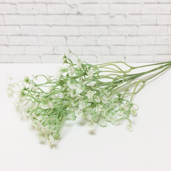 """Букет """"Гипсофила"""" бело-зеленая 70 см"""