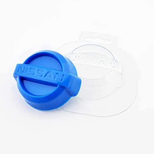 Авто Nissan, форма пластиковая