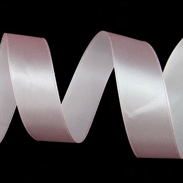 Лента атласная 0,7 см нежно-розовая